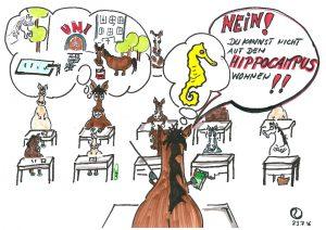 STUDENTENLEBEN AUF DEM HIPPOCAMPUS MÖGLICH ?