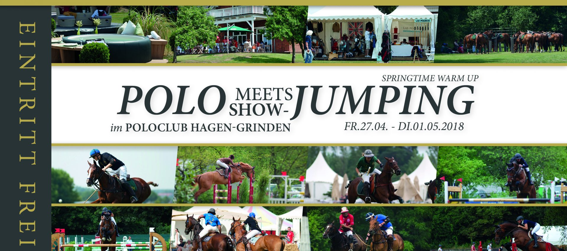 Polo meets Showjumping